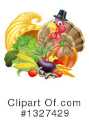Royalty-Free (RF) Turkey Bird Clipart Illustration #1327429