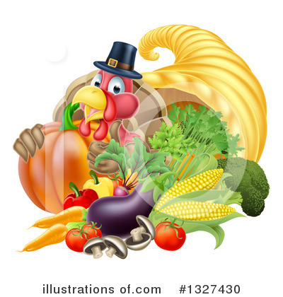 Thanksgiving Clipart #1327430 by AtStockIllustration