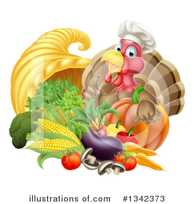 Thanksgiving Clipart #1342373 by AtStockIllustration