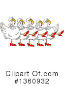 Turkey Bird Clipart #1360932 by djart