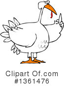 Turkey Bird Clipart #1361476 by djart