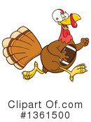 Turkey Bird Clipart #1361500 by Hit Toon