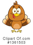 Turkey Bird Clipart #1361503 by Hit Toon