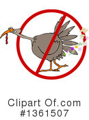 Turkey Bird Clipart #1361507 by djart