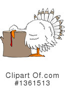 Turkey Bird Clipart #1361513 by djart