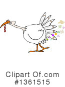 Turkey Bird Clipart #1361515 by djart
