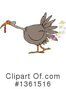 Turkey Bird Clipart #1361516 by djart