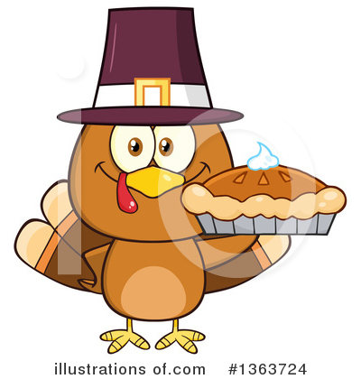 Pie Clipart #1363724 by Hit Toon