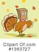 Turkey Bird Clipart #1363727 by Hit Toon