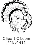 Turkey Bird Clipart #1551411 by BNP Design Studio