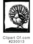 Royalty-Free (RF) Turkey Bird Clipart Illustration #230013