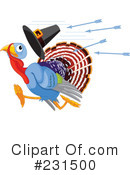 Turkey Bird Clipart #231500