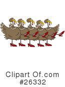 Turkey Bird Clipart #26332