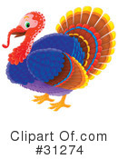 Turkey Bird Clipart #31274