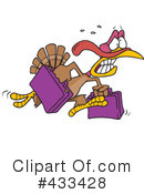 Royalty-Free (RF) Turkey Bird Clipart Illustration #433428
