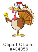 Royalty-Free (RF) Turkey bird Clipart Illustration #434356