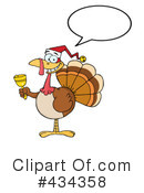 Royalty-Free (RF) Turkey bird Clipart Illustration #434358