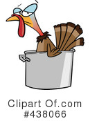 Royalty-Free (RF) Turkey Bird Clipart Illustration #438066