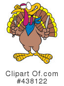 Royalty-Free (RF) Turkey Bird Clipart Illustration #438122