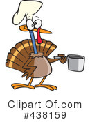 Royalty-Free (RF) Turkey Bird Clipart Illustration #438159