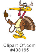 Royalty-Free (RF) Turkey Bird Clipart Illustration #438165