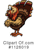 Royalty-Free (RF) Turkey Clipart Illustration #1126019