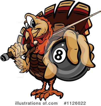Turkey Clipart #1126022 by Chromaco