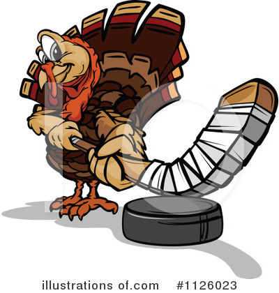 Turkey Clipart #1126023 by Chromaco