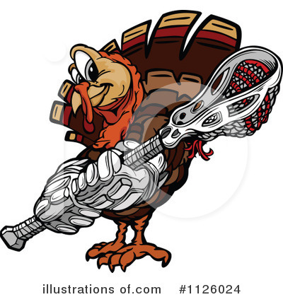 Turkey Clipart #1126024 by Chromaco