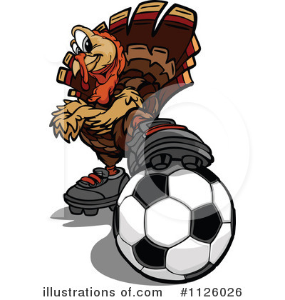 Turkey Clipart #1126026 by Chromaco
