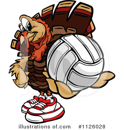 Turkey Clipart #1126028 by Chromaco