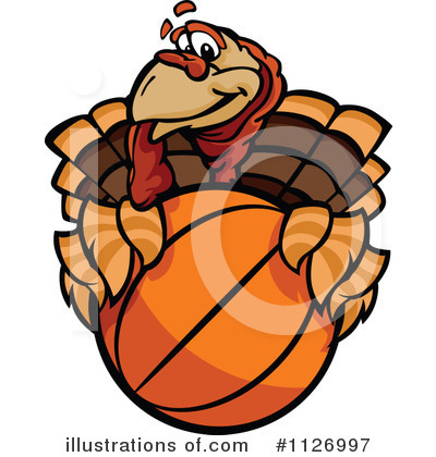Turkey Clipart #1126997 by Chromaco