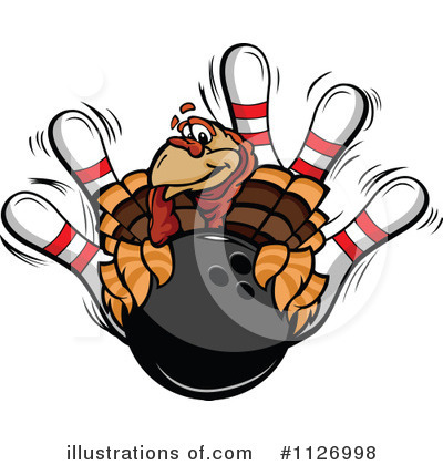 Turkey Clipart #1126998 by Chromaco