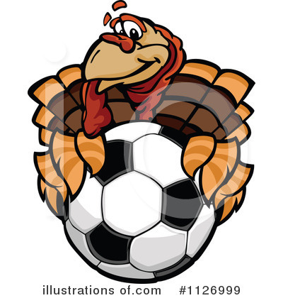 Turkey Clipart #1126999 by Chromaco