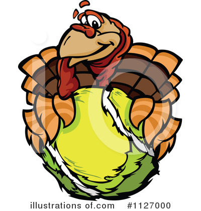 Turkey Clipart #1127000 by Chromaco