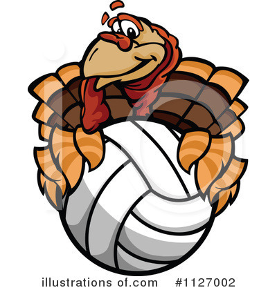 Royalty-Free (RF) Turkey Clipart Illustration by Chromaco - Stock Sample #1127002