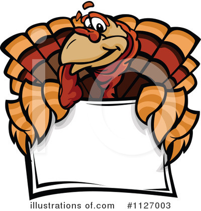 Royalty-Free (RF) Turkey Clipart Illustration by Chromaco - Stock Sample #1127003