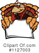 Turkey Clipart #1127003 by Chromaco