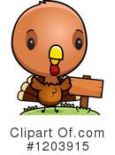 Baby Turkey Clipart 1 16 Royalty Free Rf Illustrations