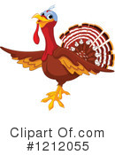Turkey Clipart #1212055 by Pushkin