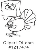 Turkey Clipart #1217474 by toonaday
