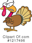 Turkey Clipart #1217496 by toonaday