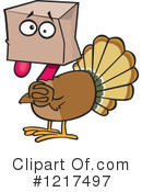Turkey Clipart #1217497 by toonaday