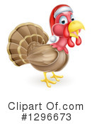 Royalty-Free (RF) Turkey Clipart Illustration #1296673