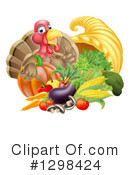 Royalty-Free (RF) Turkey Clipart Illustration #1298424
