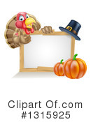 Royalty-Free (RF) Turkey Clipart Illustration #1315925