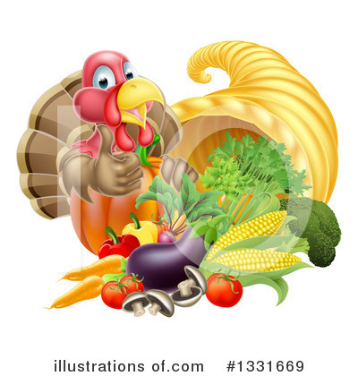 Thanksgiving Clipart #1331669 by AtStockIllustration