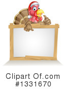 Royalty-Free (RF) Turkey Clipart Illustration #1331670