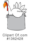 Turkey Clipart #1362428 by djart