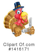 Royalty-Free (RF) Turkey Clipart Illustration #1416171